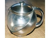 Lipton Glass and Stainless steel teapot