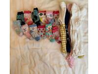 Baby girl socks and tights