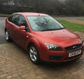 Ford Focus climate 1.6 zetec petrol 94k Manual