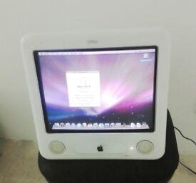eMac - 1.42ghz G4, 160gb HDD, 1GB RAM, WiFi