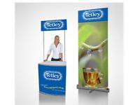Non branded display stand, POS (Point of Sales) Display Kit.
