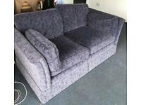 Blue Two Seater Sofa