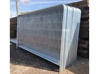 ⚙️ TEMPORARY HERAS STYLE SECURITY FENCING SETS > PANEL/FOOT/CLIP > NEW