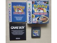 Nintendo Game Boy color * pokemon trading card game *BOXED & GENUINE