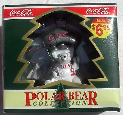 Coca-Cola Oso Polar Encendido Botella Abridor Ornamt