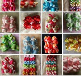 Handmade Bows for girls