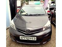 TOYOTA YARIS 1.4 D-4D TR 3d 89 BHP Apply for finance Online tod (grey) 2013