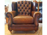 High Back Regent Armchair