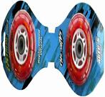 Wheelset StreetSurfing Clear Red (WH06-EX-RD-6)