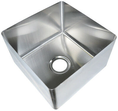 Bk Resources 20x28 One Compartment Stainless Steel Weld-in Sink