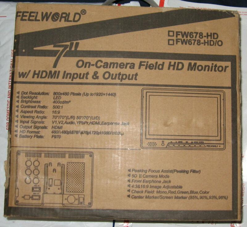 """Feelworld FW689HD 7"""" LCD Monitor"""