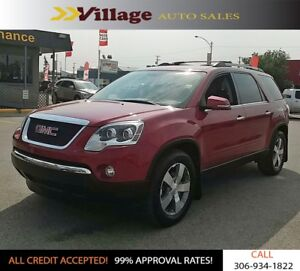 2012 GMC Acadia SLT Heated Seats, Bluetooth, Back-up Camera,...