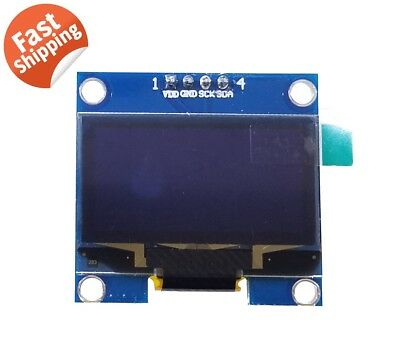 1.3 Sh1106 I2c Iic 128x64 Oled Lcd Led Display Module Board For Arduino Blue