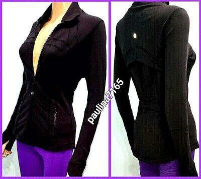 LULULEMON BLACK DEFINE Jacket , Dot Size 6  #L252