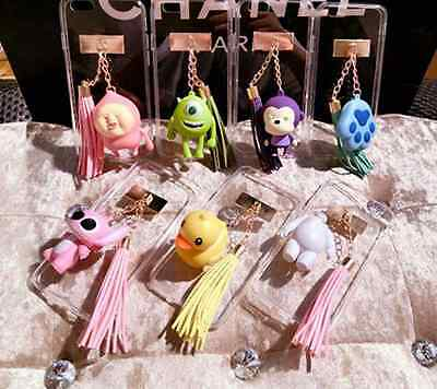 KEYRING MOBILE CASE FOR IPHONE MODELS - CUTE CHARACTER FASHION CARTOON 3D COVER