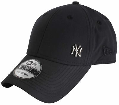 New Era Mens 9FORTY Flawless New York Yankees Cap - Black