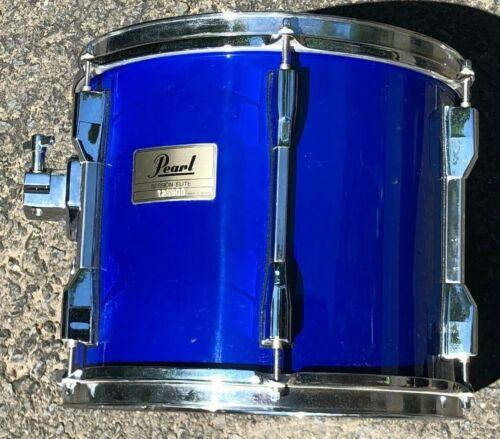 """Pearl Session Elite 12 x 10"""" Tom DRUM Transparent Blue"""