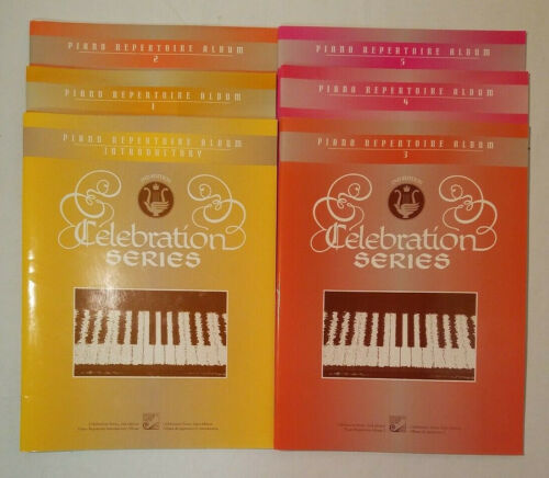 Lot of 6 Piano Repertoire Albums | Centennial Celebration Series | 2nd Edition