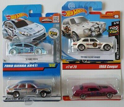 Hot Wheels Ford Sierra XR4Ti Escort Gumball Rally RS1600 Fiesta Classics Cougar