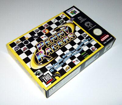 PENNY RACERS Nintendo 64 / N64 (PAL) game complete in BOX