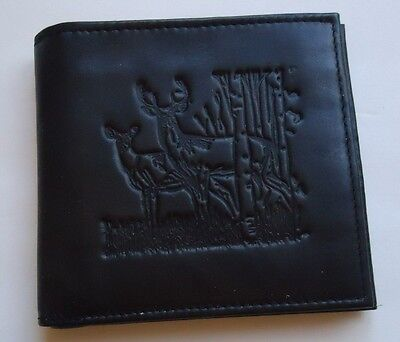 big buck tall hipster genuine leather wallet