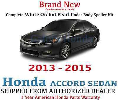 Genuine OEM Honda Accord 4Dr Sedan Complete Under Body Kit  2013 - 2015 NH-788P