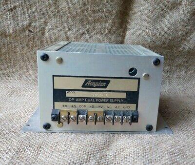 Acopian Td15-40 Op-amp Dual Power Supply