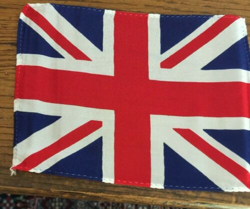 """Flags, United kingdom Small 3"""" X 5"""" Small Nyion Flags, 50 count Lot"""