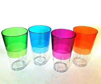 Chef Craft 20 oz. Tumbler Plastic Cups set of 4](Plastic Tumbler Cups)