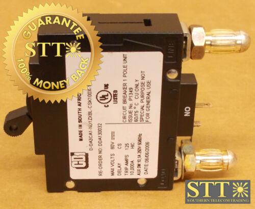 D-da3ca1-nd1zxbl-csk100x-1 Cbi 100a Alm Bullet Circuit Breaker Dda130032