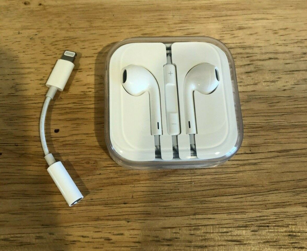 APPLE IPHONE EARBUDS EARPHONES IN EAR HEADSET WITH MIC AND EXTENDER BRAND NEW - $19.99