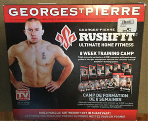 George St Pierre RUSH FIT exercise program