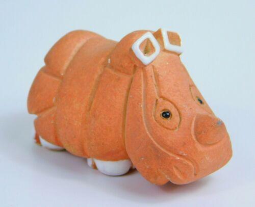Artesania Rinconada Baby Rhino #30 Retired Animal Uruguay Figurine