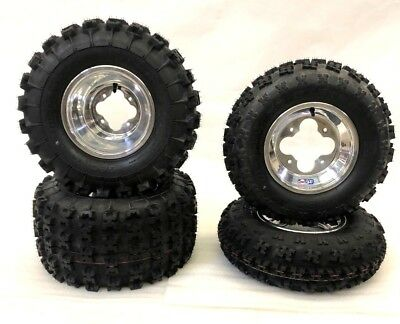 Used, GBC XC MASTER TIRES DWT A5 POLISHED RIMS FRO