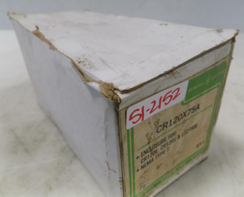 GENERAL ELECTRIC NEMA TYPE 1 ENCLOSURE CR120X75A NIB
