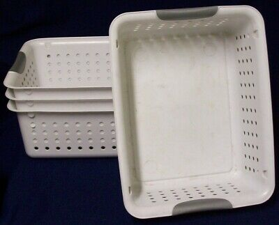 Restaurant Equipment Bar Supplies 4 Sterilite Medium Ultra Baskets
