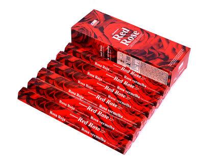 Ароматизированные палочки, благовони red rose -