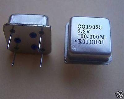 Raltron Crystal Oscillators 100 Mhz 3.3volt 2 Pcs