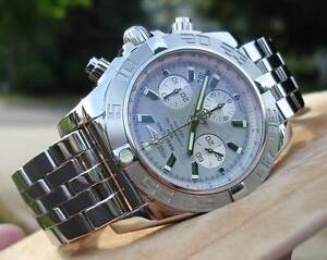 NEW BREITLING CHRONOMAT B01 44MM NEW MODEL SILVER DIAL MENS WATCH Brisbane City Brisbane North West Preview