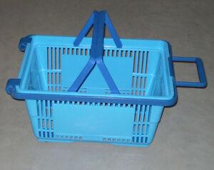 Koszyk sklepowy na kółkach /Shopping basket on wheels/ - <span itemprop=availableAtOrFrom>Zmigród, Polska</span> - Zwroty są przyjmowane - Zmigród, Polska