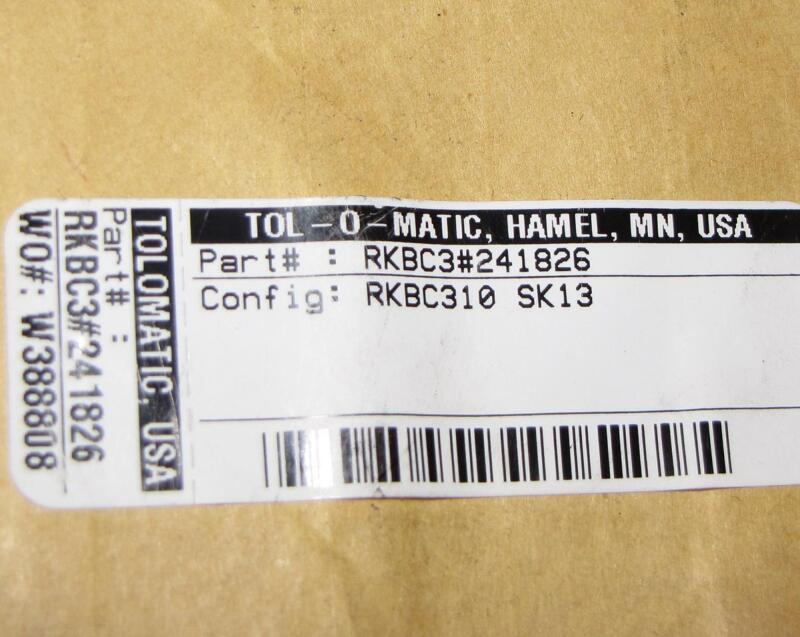 TOL-O-MATIC RKBC3#241826  kit Tolomatic  *new*