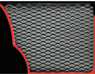 Sumex BLACK Aluminium Car Grill Grille Vent Mesh Hexagonal Type - (33 x 100cm)