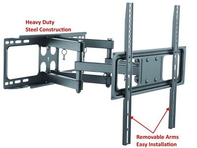 Heavy Duty Full Motion TV Wall Mount Bracket Fits 32