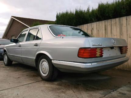 "Mercedes-Benz 280se 1985 ""may swap"" Geelong Geelong City Preview"