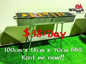 WillBBQ Outdoor Party Event BBQ Grill Hire Hiring Rent Melbourne CBD Melbourne City Preview
