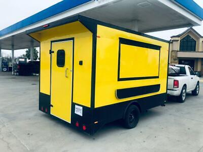 New Food Trailer Catering Concession 12 X 8.5 Fully Equipped