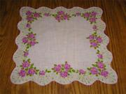 Vintage Rose Hankies