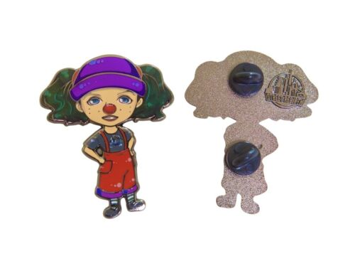 The Big Comfy Couch Enamel Pin - 2 inch Lapel - Loonette The Clown and Molly 90s