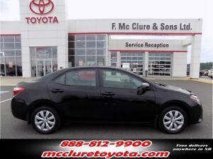 2014 Toyota Corolla LE Free winter tires!!