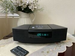 Bose Wave Radio CD Player Stereo Alarm Clock W/ Remote AWRC1G